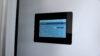 Indstilling af Nilan ventilation på indbygget touchskærm på væggen