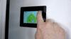 Demonstration af Nilan ventilationsløsning på touchskærm installeret i boligen